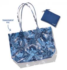 Průhledná plážová taška
